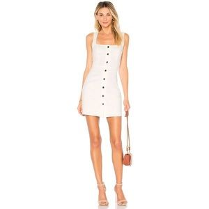 by the way. Demi Button Dress in White Size Small